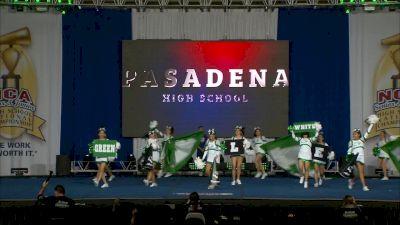 Pasadena High School [2019 Game Day Band Chant Small High School Finals] NCA Senior & Junior High School National Championship