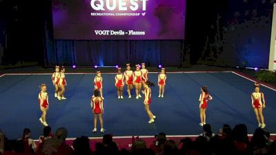 VOGT Devils - Flames [2020 L2 Performance Rec - Non-Affiliated (14Y - Small)] 2020 The Quest