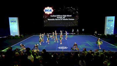 Cardinal Gibbons High School [2020 Small Junior Varsity Semis] 2020 UCA National High School Cheerleading Championship