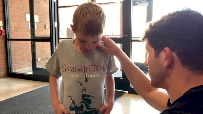 Ashnault Signing Autographs Ready To Go At Northwest Elite Camp