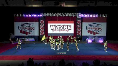 Wayne State University [2019 Intermediate Small Coed II Finals] 2019 NCA & NDA Collegiate Cheer and Dance Championship