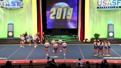 Cheer St Louis - Archangels [2019 L5 Senior X-Small Finals] 2019 The Cheerleading Worlds