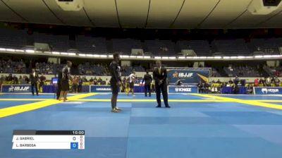 JOAO GABRIEL vs LUCAS BARBOSA World IBJJF Jiu-Jitsu No-Gi Championships