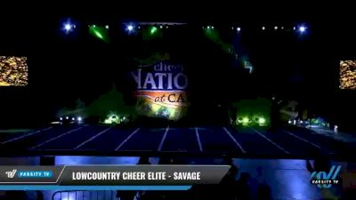 Lowcountry Cheer Elite - Savage [2021 L2 Senior - D2 - Small Day 2] 2021 Cheer Ltd Nationals at CANAM
