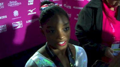 Simone Biles On Upgrading Vault - Event Finals, 2015 World Championships