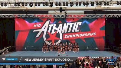 New Jersey Spirit Explosion - Fab 5 [2020 L6 Senior - Small Day 2] 2020 Mid-Atlantic Championships
