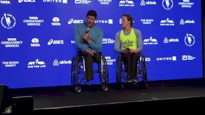 TCS NYC Marathon Wheelchair Press Conference