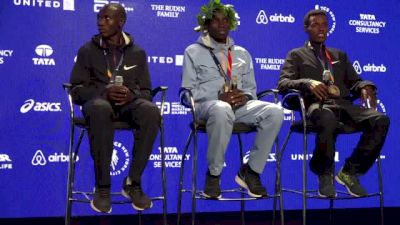 TCS NYC Marathon Men's Press Conference