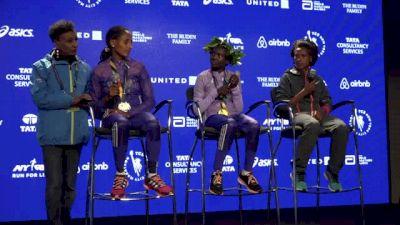 TCS NYC Marathon Women's Press Conference