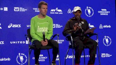 TCS NYC Marathon USA Men's Press Conference