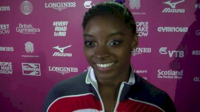 Simone Biles Gets Beam Redemption, Earns 2 More Golds - Event Finals, 2015 World Championships