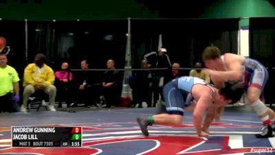 285lbs Finals Andrew Gunning (PA) vs. Jacob Lill (GA)