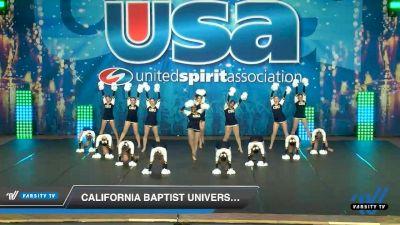 California Baptist University [2020 Pom 4-Year College Day 2] 2020 USA Collegiate Championships