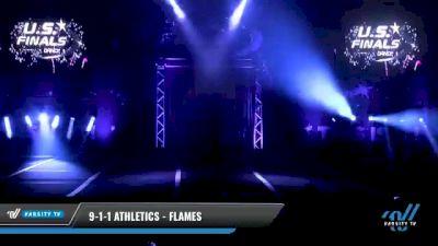9-1-1 Athletics - Flames [2021 L1.1 Tiny - PREP Day 1] 2021 The U.S. Finals: Myrtle Beach