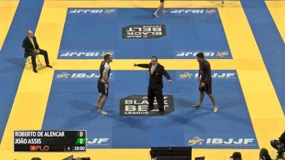 FINAL Super heavyweight Joao Assis vs Roberto Alencar 