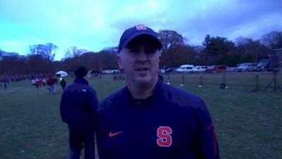 Syracuse coach Chris Fox looks forward to NCAAs after NE region win