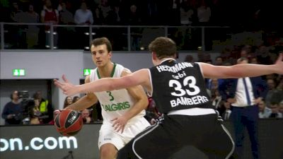 Former Iowa Star Aaron White Helps Zalgiris Kaunas Into EuroLeague Final 4