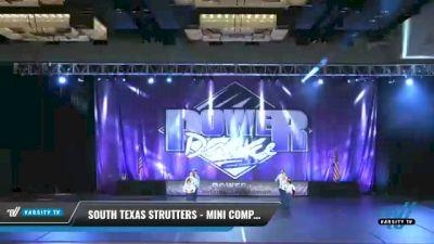 South Texas Strutters - Mini Company [2021 Mini - Pom Day 2] 2021 ACP Power Dance Nationals & TX State Championship