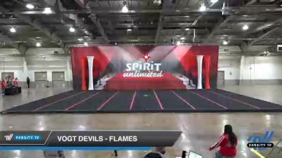 VOGT Devils - Flames [2021 L2 Performance Recreation - 14 and Younger (NON) Day 1] 2021 Red Rose Championship