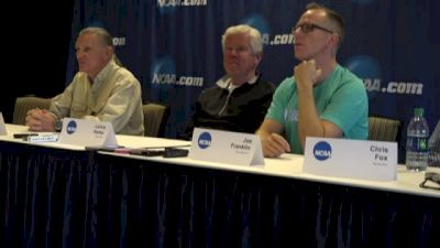 Mark Wetmore, Lance Harter and Joe Franklin address the issue of recruiting internationally
