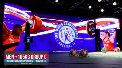 IWF World Championships M 105+kg C Session Snatch