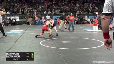 125lbs Match Dalton Macri (Cornell) vs. Sean McCabe (Rutgers)