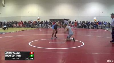 157 Consi of 4 Aaron Walker (The Citadel) vs. Dylan Cottrell (West Virginia)
