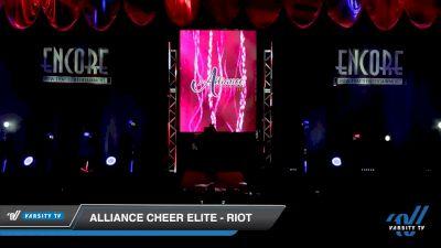 Alliance Cheer Elite - RIOT [2019 Senior Coed - D2 3 Day 2] 2019 Encore Championships Houston D1 D2