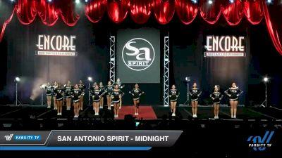 San Antonio Spirit - Midnight [2019 Senior - D2 2 Day 2] 2019 Encore Championships Houston D1 D2