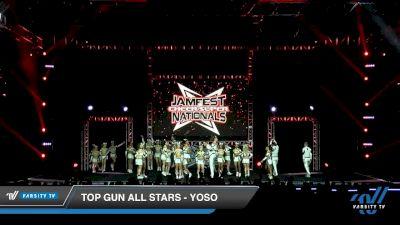 Top Gun All Stars - YOSO [2020 L5 Senior Coed - Large Day 2] 2020 JAMfest Cheer Super Nationals
