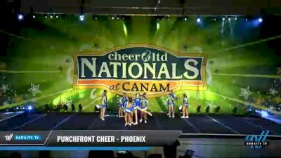 PunchFront Cheer - Phoenix [2021 L6 International Open Coed - Small Day 2] 2021 Cheer Ltd Nationals at CANAM