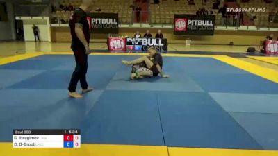 Gairbeg Ibragimov vs Daniel De-Groot 1st ADCC European, Middle East & African Trial 2021