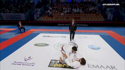 Philippe Pomaski vs David Willis Abu Dhabi World Professional Jiu-Jitsu Championship