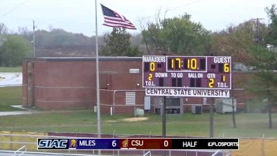 Full Replay - Miles vs Central State - Miles vs Central State Halftime Show - Oct 26, 2019 at 2:07 PM EDT