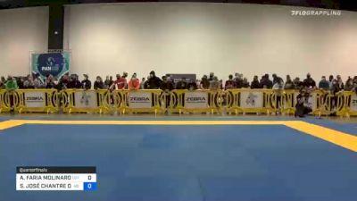 ALEXANDRE FARIA MOLINARO vs SAMIR JOSÉ CHANTRE DAHÁS 2020 IBJJF Pan No-Gi Championship