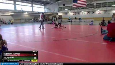 138 lbs Round 3 (4 Team) - Lily Kinsel, Ohio vs Kiernan Farmer, Charlies Angels Pink