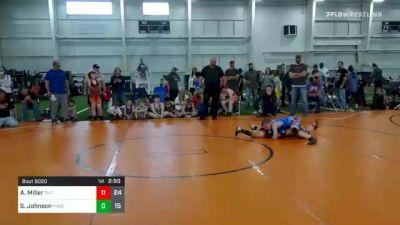 80 lbs Final - Austin Miller, The Mullet Army vs Stuart Johnson, Phoenix Wrestling