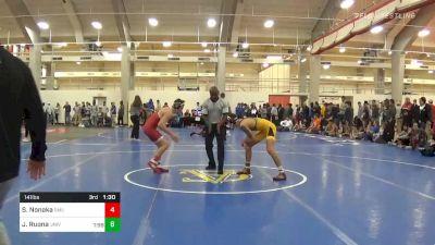 Prelims - AJ Leitten, NC State vs Cody Bond, Appalachian State