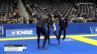 DILANO O'BRIAN TAYLOR vs KEMOY SHELDON ANDERSON 2021 World IBJJF Jiu-Jitsu No-Gi Championship