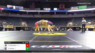 197 lbs Final - Eldar Muradov, The Ohio State University WC vs Austin Amos, Liberty University