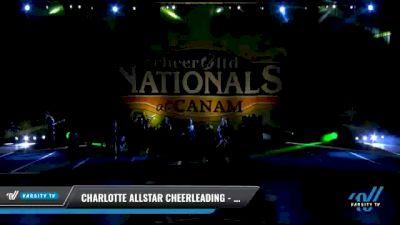 Charlotte Allstar Cheerleading - Ultra Violet [2021 L2 Junior - Medium Day 2] 2021 Cheer Ltd Nationals at CANAM