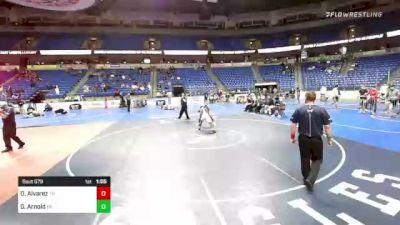 170 lbs Semifinal - Omaury Alvarez, Tennessee vs Gabe Arnold, Pennsylvania
