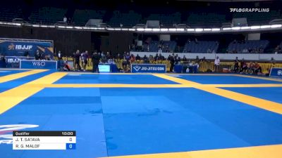 JONATHAN T. SATAVA vs ROBERT G. MALOF 2019 World IBJJF Jiu-Jitsu No-Gi Championship