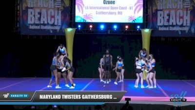 Maryland Twisters Gaithersburg - Ozone [2021 L6 International Open Coed - NT Day 2] 2021 ACDA: Reach The Beach Nationals