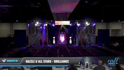Dazzle U All Stars - Brilliance [2021 L2 Junior - D2 - Small Day 2] 2021 Queen of the Nile: Richmond