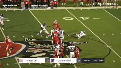Replay: Mater Dei  vs Duncanville - 2021 Mater Dei vs Duncanville | Aug 27 @ 7 PM