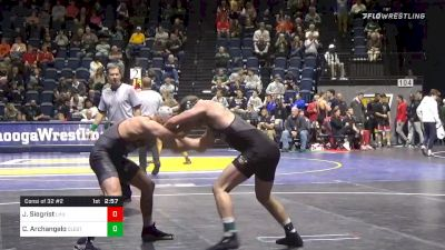 174 lbs Consolation - Jared Siegrist, Lock Haven vs Chase Archangelo, Cleveland State