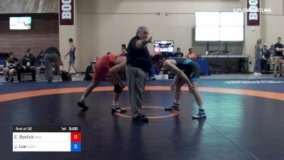 74 kg Rnd Of 32 - Erich Byelick, Northwestern vs Joe Lee, NLWC