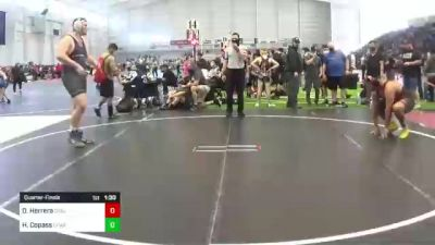 285 lbs Quarterfinal - Daniel Herrera, Cvbjj vs Hayden Copass, Cfwa@lhp