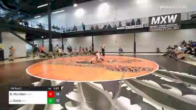 145 lbs Prelims - Brayden Mcmillen, Midwest Xtreme Wrestling vs Jack Coyle, Bad Boys IN